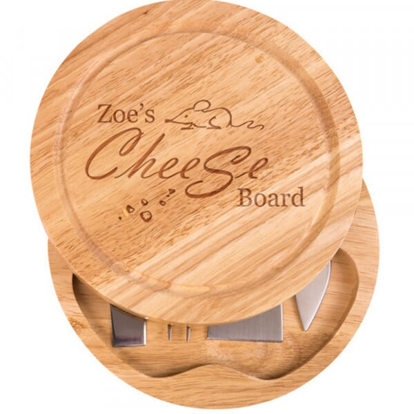 Personalised Cheese Board - Who's
