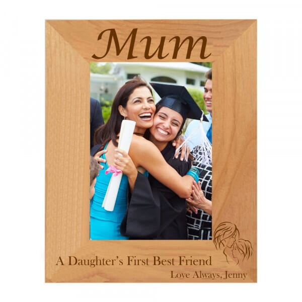 Personalised Daughter's Best Friend Photo Frame