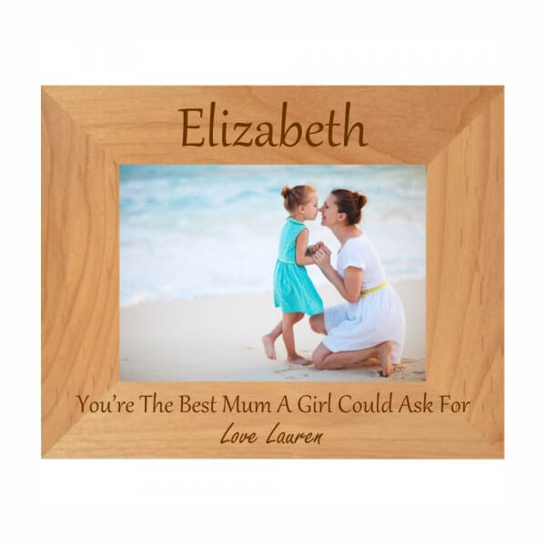 Personalised You're The Best Mum Photo Frame