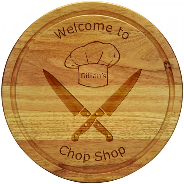 Personalised Chopping board - Chop Shop