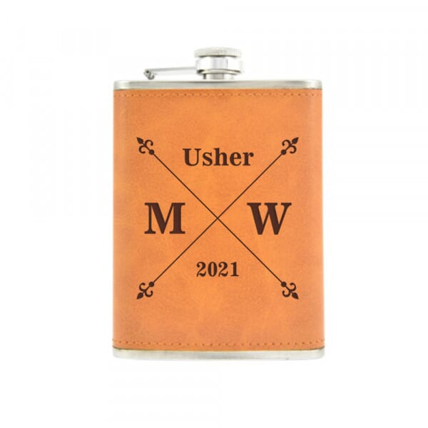 Personalised Hip Flask - Wedding Party