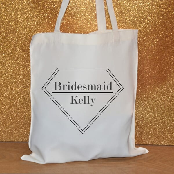 Personalised Tote Bag - Bridesmaid