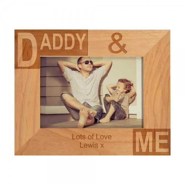 Daddy & Me Photo Frame