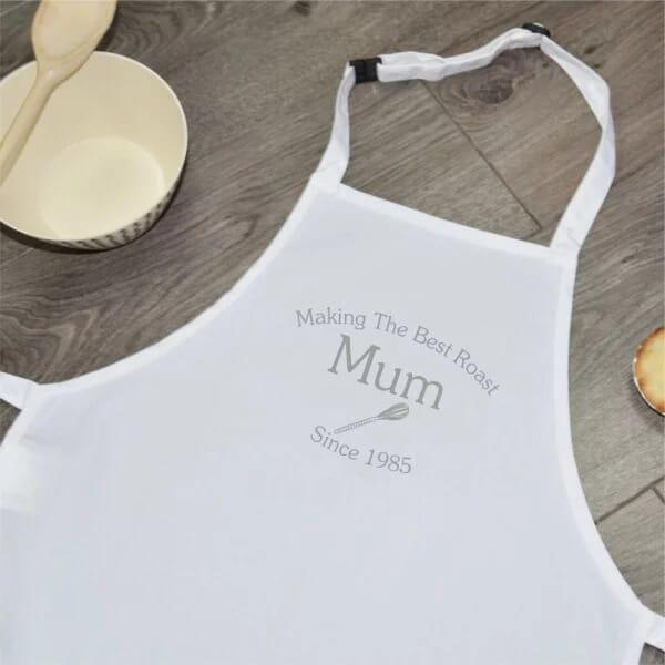 Personalised Sublimated Apron - Best Mum