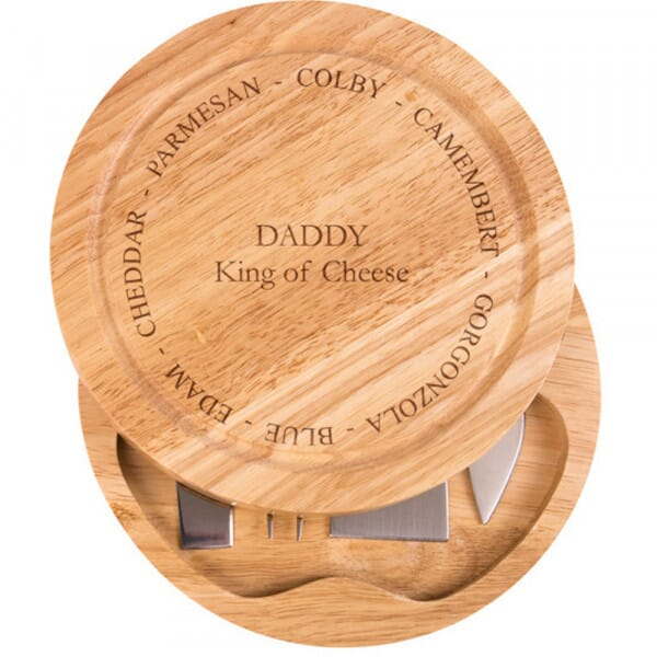 Personalised Cheese Board - King of Cheese