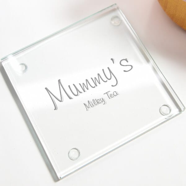 Personalised Favourite Drinks Glass Coasters