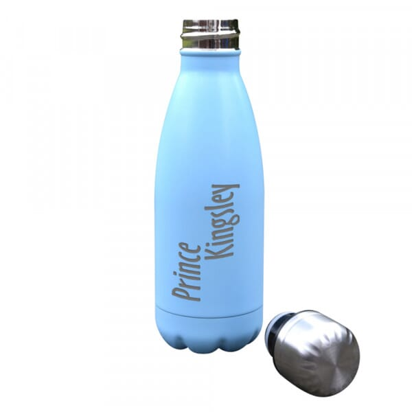 Personalised 'Prince' Insulated Water Bottle - 350ml