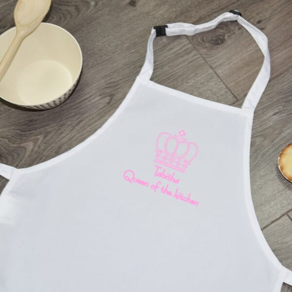 Personalised Sublimated Apron - Queen Of The Kitchen