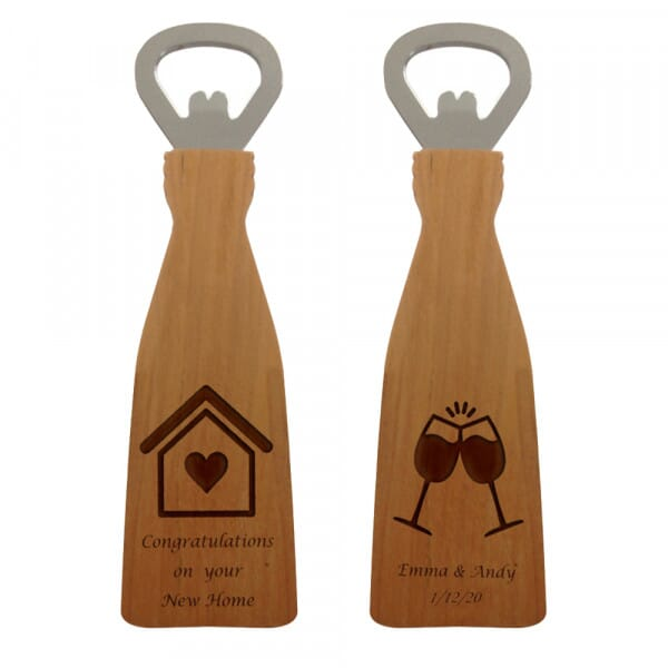 Personalised Bottle opener - New home