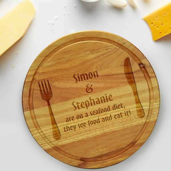 Personalised Chopping board - Seafood, See Food