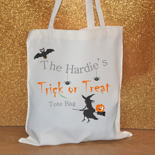 Personalised Tote Bag - Halloween