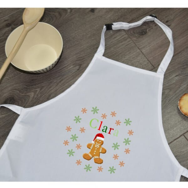 Personalised Sublimated Apron - Christmas