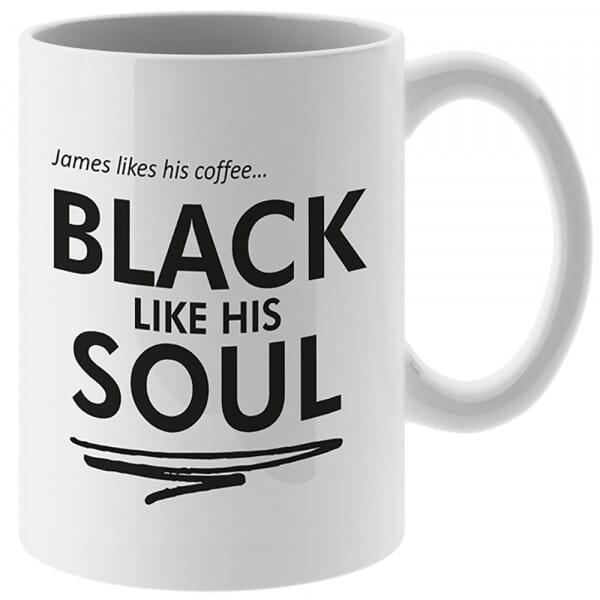 Personalised Coffee Mug and Coaster Set