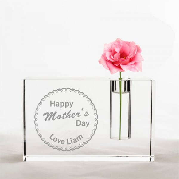 Personalised Happy Mother's Day Vase
