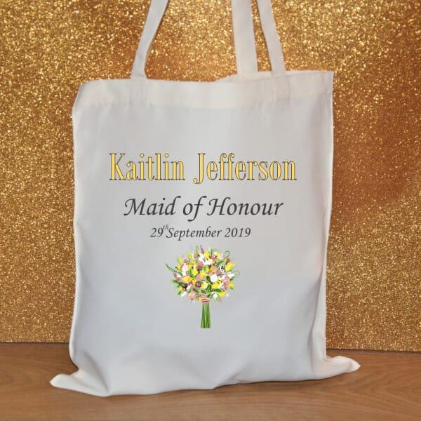 Personalised Tote Bag - Maid of Honour