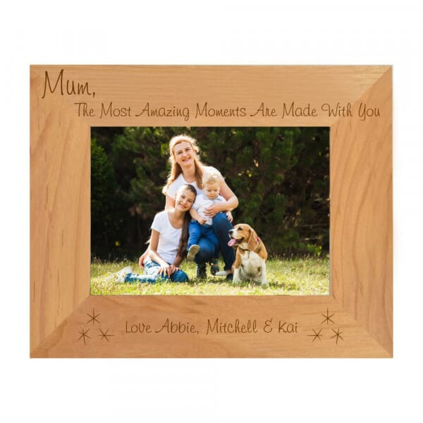 Personalised The Most Amazing Moments Photo Frame